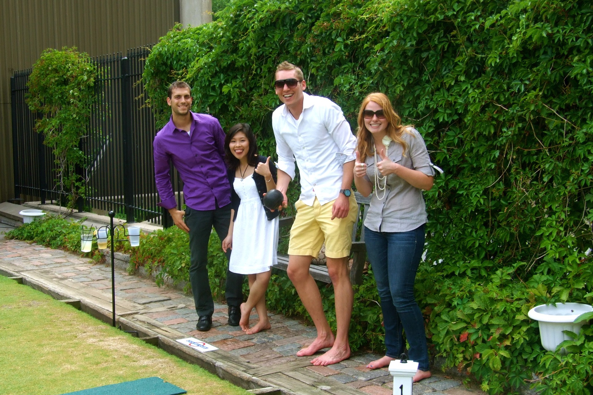 Deluxe Corp Interns Go Lawn Bowling | Deluxe Talent Community